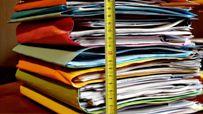 Folders work pile