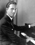 Gershwin photo at piano